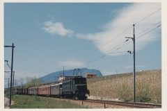 Auvernier 38 CFF Ae 36 10703 Re 44 10040 B 203 RVT CFF Tr 2426 Pont Ntl 14-05-1967 Photo Schetty