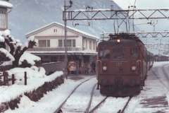 BLS Ae 44 257 Oey Décembre 1979 NSD 72 18