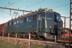 CFF Ae 66 11483 JURA Palézieux 20-11-1981 DMS CS01C 31a
