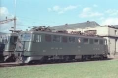 CFF Ae 66 11485 Biel ID 29 mars 1980 NSD 75 13
