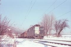 CFF Ae 66 Boudry Décembre 1981 NSD 108 09