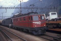 CS21D 05 CFF Ae 66 11420 Re 1010 Erstfeld 20-10-1989 DMS CS21D 05