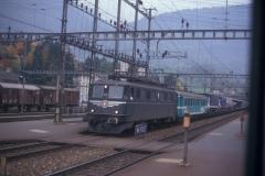 CS21D 11 CFF Ae 66 11412 HUPAC Bc Schlieren Arth Goldau 20-10-1989 DMS CS21D 11