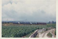 Auvernier 29 CFF Be 46 1614 UM 1615 Tr 2128 Ntl Ls 25-08-1967 Photo Schetty