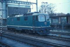 CFF Re 44 II 11135 Locomotive Olten 13-03-0982 DMS CS02A 04