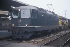 CS21D 25 CFF Re 44 II 11131 verte Neuchâtel 18-11-1989 DMS CS21D 25