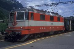 CS25A 06 CFF Re 44 II 11133 SE Interlaken 05-09-1992 DMS CS25A 06