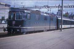 CS27A 53 CFF Re 44 II 11110 Zürich 04-09-1993 DMS CS27A 53