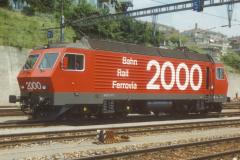 CS32D 02 CFF Re 44 IV 2000 Lausanne XX-08-1986 DMS CS32D 02