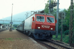 CS37D 01 CFF Re 44 IV 10102 Ominbus 3263 Boudry 14-06-1984 DMS CS37D 01a