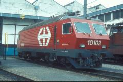 CS37D 24 CFF Re 44 IV 10103 Lausanne 01-04-1983 DMS CS37D 24a