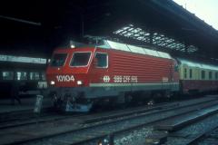 CS37D 27 CFF Re 44 IV 10104 EC Lausanne 01-04-1983 DMS CS37D 27