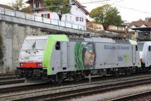 Locomotives électriques BLS